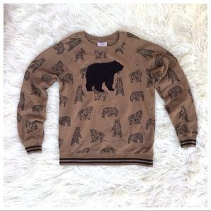 Youth Hanna Andersson Bear Sweater 10